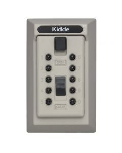 Kidde 001361C KeySafe Original 5-Key Permanent, Pushbutton (Clay)