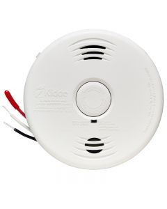 Kidde i12010SCOCA Worry-Free Hardwire Talking Smoke & Carbon Monoxide Alarm with 10-Year Battery Backup