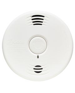 Kidde P3010CUCA Worry-Free 10-Year Battery Operated Talking Smoke & Carbon Monoxide Alarm